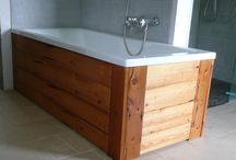 bath DIY for lake