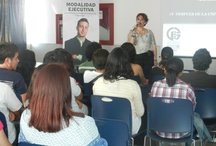 Tec. Milenio University / Beristain Group, giving a conference to international trading students / by Grupo Beristain