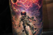 Space tattoos / Tatts