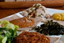 Ethiopia dishes veg