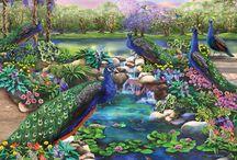 цветущий мир