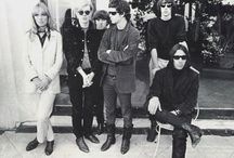 Andy Warhol and The Velvet Underground / Warhol was the manager of the American rock band, The Velvet Underground, from 1965-1967.  / by Revolver Gallery