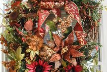 Wreath / Wreath for after Christmas