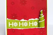 Kaarten kerstmis/cards christmas