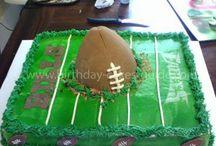 Football cake / by Chaka Dunn