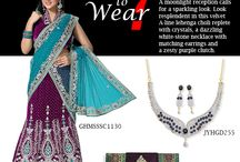 What to Wear? / Confused on your outlook for a party ? wedding? No worries, Here is a look you can sport everyday.  / by Cbazaar - Delivering Happiness