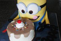 Festas dos Minions / Bolos Minion