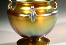 Steuben Glass / Fine examples of Stueben Glass, Sold at auction by,  John Moran Auctioneers, Pasadena, CA