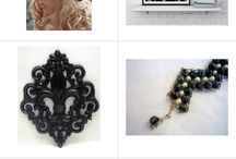 Etsy treasury from polyvore