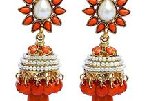 Amazing Traditional Indian Wedding Party Jhumki Jhumka Earrings