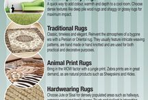 Rug Infographics / Rug Related information published in a graphic.