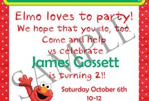 Conners 2nd birthday / Elmo