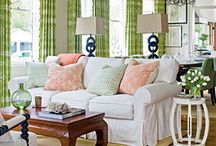 Dwell & Decor / The frustrated decorator in me! I love to decorate (including the shopping and planning) but I also love someone else doing the designing and interior decorating too!