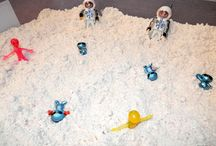 Space ideas for kids / by Becky VanRiper