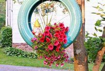 Decoração e Reciclagem / Decoração residencial e reciclagem