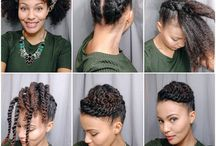 formal work hairstyle