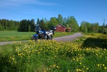 On any saturday ;) / Lovely weather for a ride in Finland today