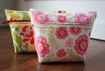 Crafts- sewing, pouches / by Max and Otis Designs