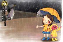 Regen liedjes