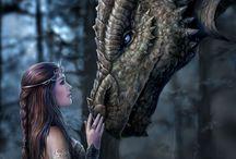 Dragons/lohareita / Dragons/lohikäärmeitä