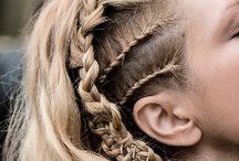Research - Lagertha hair / Research images on Lagertha's hair