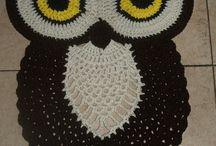 musta pöllö matto