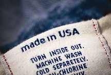 Made in the USA ツ / Sadly its Very Hard to find  anything made in america~ I can tell it will take awhile to fill this board~