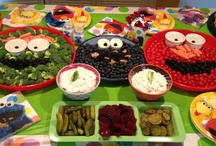 Fun Kids Food: Vegetables & Fruit / Looking for a creative way to get your kids to vegetables? Check out these pins!