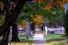 My little town in Indiana / by Janet Bennett