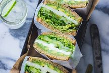 ➸ Homemade Take-Away Sandwiches / Looking for fast, delicious, healthy, take-away lunch? Find your inspiration here! Easy, low budget and so-so-good sandwiches!