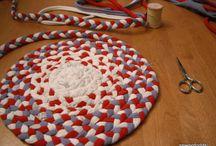 Rag Rugs/ Braided/ Crochet