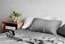 Home Decor - Linen Bedding / 100% linen bedding will add a touch of luxury to your bedroom. Warm in winter and cool and summer, see why linen has always been the best material for bedding.