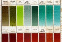 Dyeing yarn / I dye all the yarn for my tapestries. Magic in a little bit of powder...
