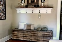 Mud room / Entry room / by Caitlin Page