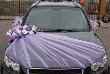 Deko - car wedding