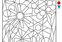 meternelle printemps Formes géométriques