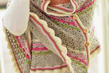 Crocheted Shawls
