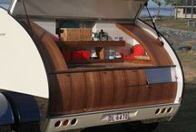 GIDGET SPECIAL FEATURES…. / These photos show what make our Gidget a teardrop camper you would be proud to own. We post photos as new customized models finish production….including simple action conversion of bed to lounge, rotating entertainment console, inbuilt solar panels and — unique to our longline 'Noosa' model — a shower and toilet compartment.