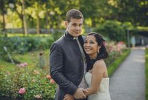 Ting-Ting & Matthias - multicultural wedding in peach, mint & gold