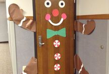 Door decorations...only because I have to :/