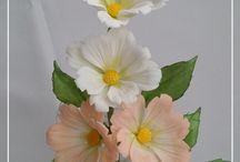 My gumpaste flowers