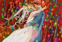 Wedding - Artsy & Colorful / by Judy E