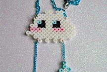 Hama Beads - Cloud