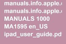 iPad manual
