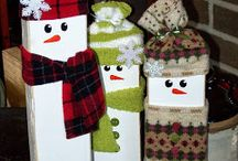 My Christmas Crafts / Some Christmas crafts I sell at craft fairs