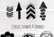 organized doodles