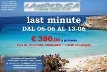 Lampedusa case e appartamenti giugno 2015 / Promozione Giugno 2015 da bologna o Bergamo le partenze