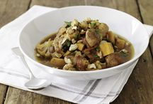 Slow Cooker and Cholent Recipes / Comforting, winter food that can cook low and slow.  Many are great for Shabbat lunch, the rest can be used for Shabbat dinner.  / by JoyofKosher.Com (Joy of Kosher with Jamie Geller)