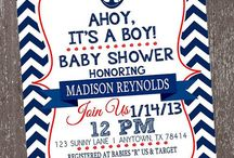 Baby Shower Ahoy It's a Boy