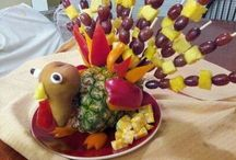 """Edible Creations / I am blessed with a creative, fun husband! This is a display of some of his fun """"edible"""" creations he likes to make!"""